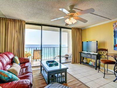 Photo for Edgewater 1008-3 - Beach front - updated and great Reviews