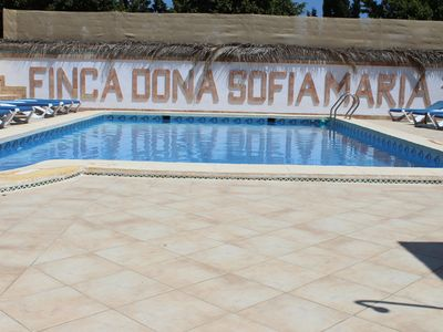 Photo for Finca Doña Sofia Maria, house for 4 people, communal pool, ideal for families