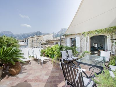 Photo for stylishly renovated town house with roof terrace close to Plaza / center of Soller