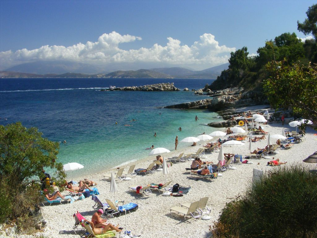 Corfu In The Picturable Village Of Kassiopi  Lovely
