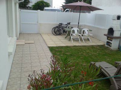 Photo for House, 4 people, 600 m from the sea and beach, WIFI, baby, bikes