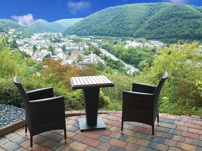 Photo for Comfortable apartment for 2 people with panoramic views of Bad Ems