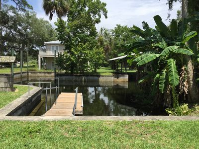 Photo for Waterfront House, Boat Dock! Fishing! Swim w/ Manatee! Scallop! Nature Coast