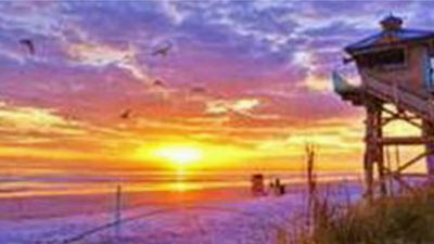 Photo for 1 St. over from Flagler ,beach is a 1 min. walk  AUGUST  DEAL NOW 85 A night