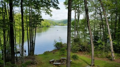 Summer View of Lake Glenville from Deck