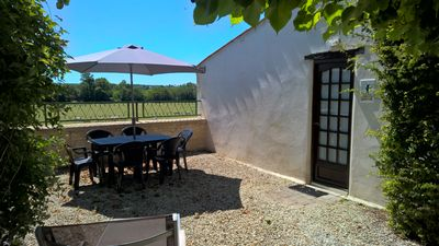 Photo for Cozy appartment with amazing view over the Charente river!