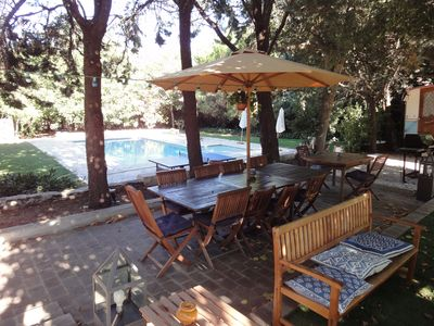 Photo for Provencal Bastide with garden and pool