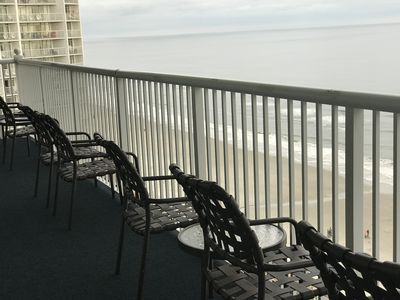 Photo for Ocean Front Condo 2 BD 2 Bath 1,000 sf Sleeps 6 Available 5Jul -12 Jul only