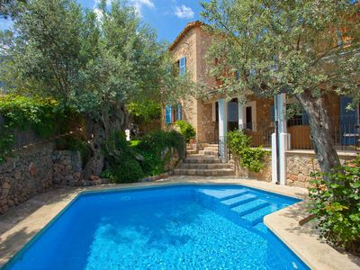 Photo for Beautiful stone house a few minutes from the best area of Deiá