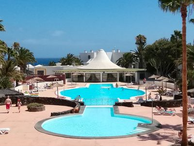 Photo for NEW MODERN STUDIO - SEAFRONT POOL COMPLEX