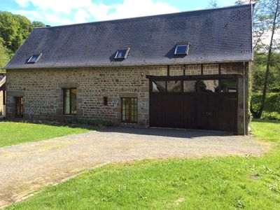 Photo for Beautifully renovated 250 year old barn set in an idyllic location near St Sever