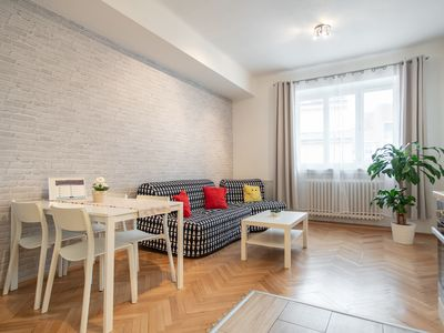 Photo for Charming Vinohrady Apartment for 5 People by easyBNB