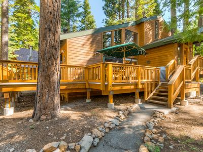 Photo for NEW LISTING! Updated home w/ a large deck - close to all that Tahoe has to offer