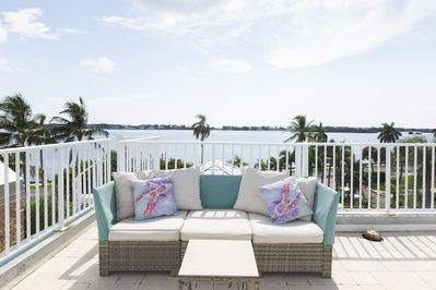 Crows Nest with Sunrise views overlooking the intracoastal as well as sunsets!