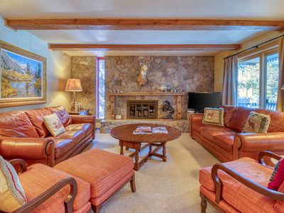 Photo for Creekfront condo in the heart of Vail w/ shared pool - steps from Gondola One!