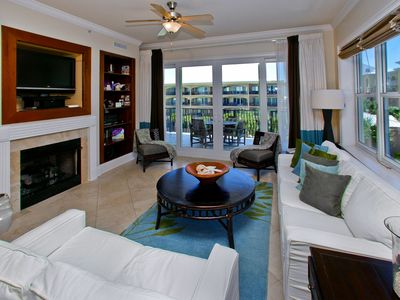 Photo for Adagio G-405 Poolside, Corner Condo with less than 1 minute walk to beach!