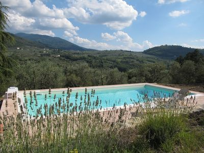 Photo for Villa with swimming pool on the Florentine hills 25 Km from Florence