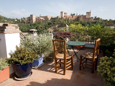 Photo for CHARMING HOUSE IN THE NEIGHBORHOOD ARAB ALBAICIN (MAGNIFICENT VIEW OF THE ALHAMBRA)