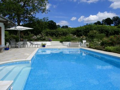 Guests have unlimited use of the pool, with sole use every weekday afternoon.