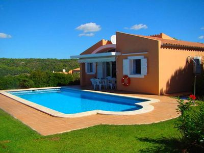 Photo for This villa is a comfortable single floor residence with a private pool, air conditioning and surroun