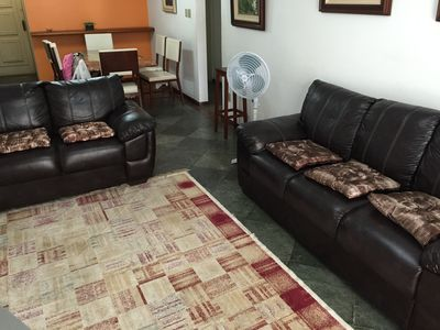 Photo for Apt 3 bedrooms, elevator, parking space, sleeps up to 8 people, all furnished
