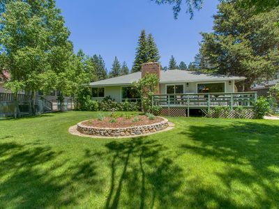 Photo for South Lake Tahoe Family Home - Deck & View, Grill, Walk to beach, 1 mi. Heavenly