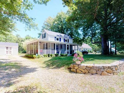Photo for Picturesque family home on Main St. w/ screened porch & large yard - 1 dog OK!