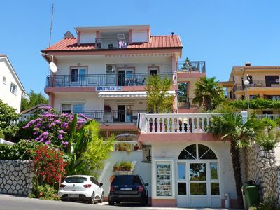 Photo for One bedroom apartment with terrace and sea view Crikvenica (A-5478-a)