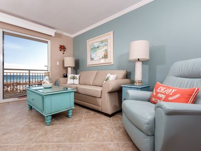Photo for Pelican Isle 116: Beach front updated condo with WIFI, GOLF, movies and MORE!