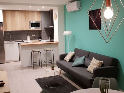 Photo for Beautiful apartement in the heart of Eixample for 2