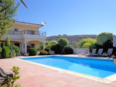 Photo for Located just 150m from the beach, it's no surprise that Villa Stephanne Pissouri Bay is a sought aft