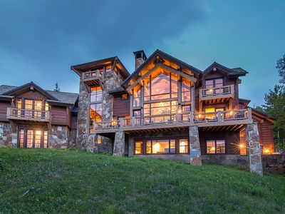 Photo for Luxurious slope side retreat at the edge of Mountain Village Core
