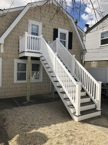 Lavallette - Bond Avenue beach block - Upper apt