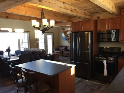 Photo for ENJOY this New Construction! Private! Rustic! Mollie Lake Cabin! No SMOKING/PETS
