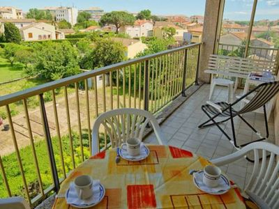 Photo for Apt T2 furnished quiet ideally located: beach, nature base, casino port Frejus