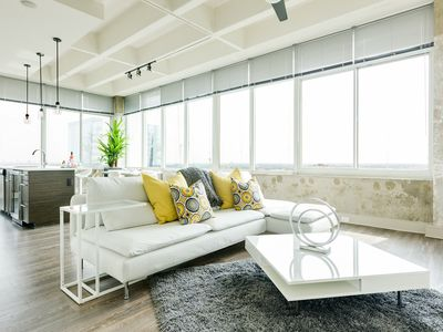 Photo for Luminous Penthouse-Styled  Panoramic View Downtown Center