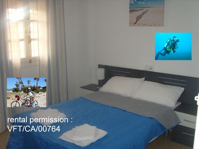 Photo for Double Bed Room with Rooms Bike And Dive