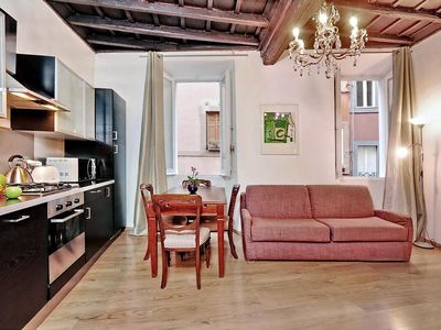 Photo for ALTEMPS Cozy apartment with one bedroom near the Pantheon