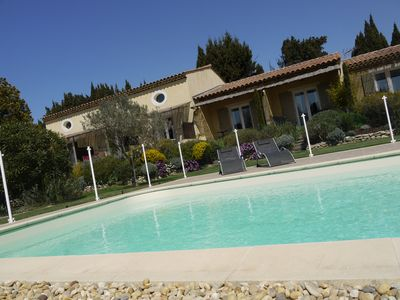 Photo for 5 bedrooms and suites with 5sdb Charming Mas in Maussane les alpilles calm and privacy