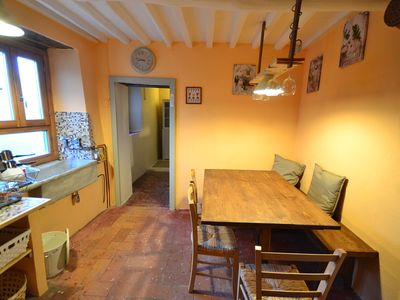 Photo for Hill-View Holiday Home in Bagni di Lucca with Terrace & Garden