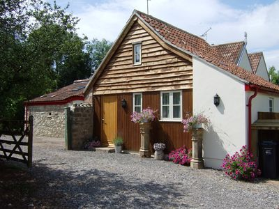 Photo for Fantastic two bedroom cottage in rural location, Cheddar, Wells, Bath area.
