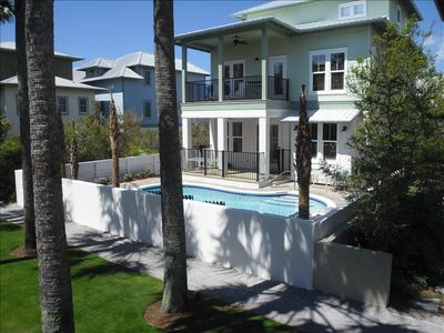 Photo for Rest Ashore: 5BR/5.5 bath, Priv Heated Pool, Office,  2 fridges, 3 kings