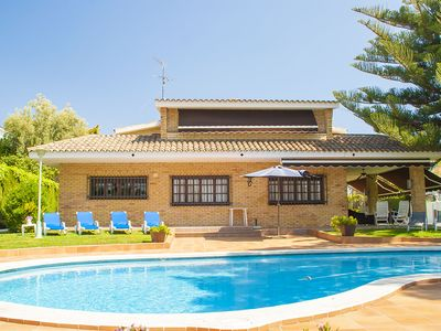 Photo for Club Villamar - Beautiful, spacious villa for the whole family, within walking distance of the se...