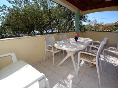 Photo for One bedroom apartment near beach Bibinje, Zadar (A-4197-a)