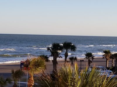 Ocean view from your patio, hear the waves!