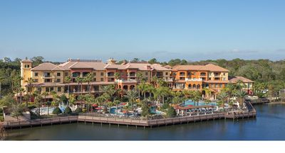 Photo for 2 bedroom condo in a resort with great amenities convenient to Disney
