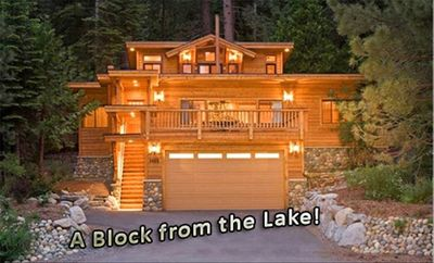 Photo for Fabulous Cabin Block away from Private Beach