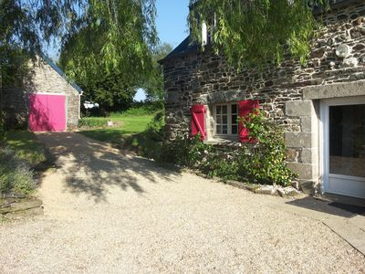 Photo for LARGE STONE HOUSE IN THE COUNTRYSIDE 15MIN FROM THE SEA