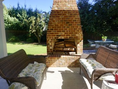 Photo for Masters Rental - Golf Course Community with Outdoor Fireplace!