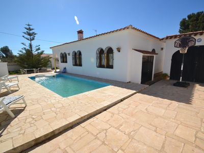 Photo for Villa Cristoulet:Private Swimming pool,terrace porche-Free wifi&AC-Close centre & creeks-Miami playa